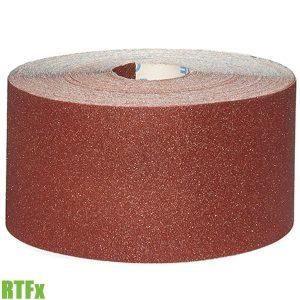 RTFx Giấy nhám vải cuộn 5-50 mét, hạt Nhôm Oxit FERVI Italia
