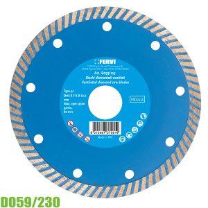 đĩa cắt kim cương D059/230
