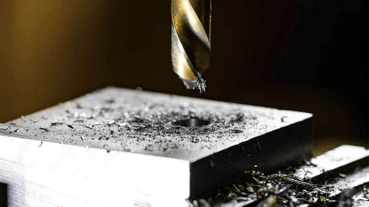 Mũi khoan kim loại dùng cho máy