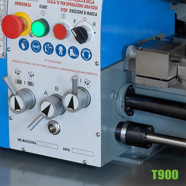 bảng điều khiển máy tiện T900