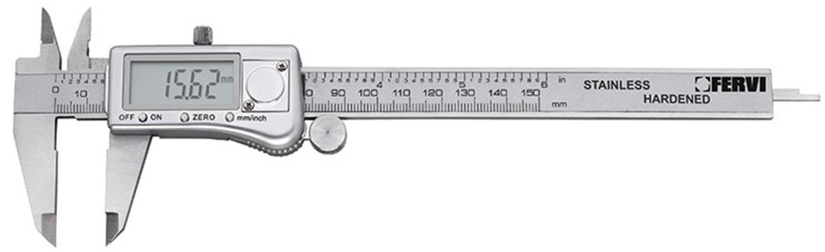 thước cặp điện tử 200mm c033 fervi