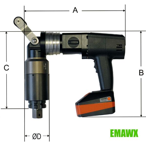 thông số chi tiết máy siết bu lông đầu cong EMAWX