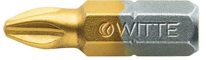 27324 Bộ 2 mũi vít bake phủ titan 1/4inch Maxx Witte