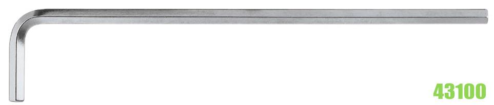 43100 Series lục giác chữ L loại dài hệ mét DIN ISO 2936