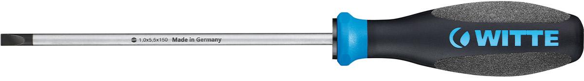 86890 Tua vít dẹt thân mảnh lưỡi dài, tua vít thợ điện ProPlus WITTE